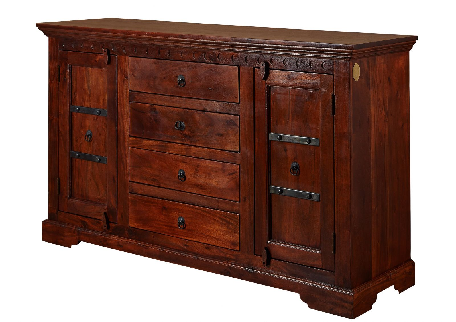 oxford sideboard 513 akazie kolonial massiv. Black Bedroom Furniture Sets. Home Design Ideas