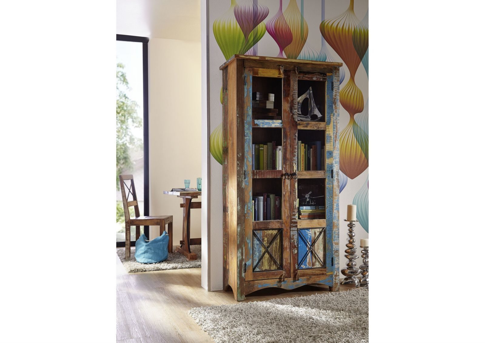 nature of spirit vitrine 52 indisches altholz. Black Bedroom Furniture Sets. Home Design Ideas