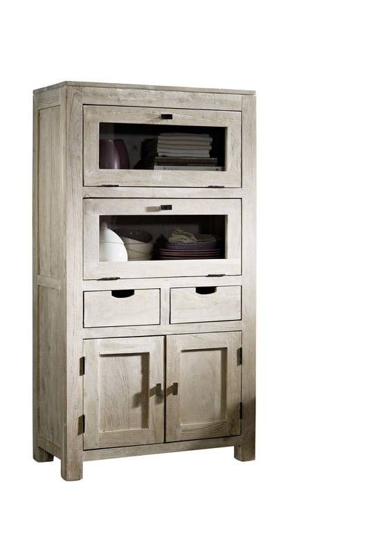 nature white highboard 60 akazie get ncht m bel. Black Bedroom Furniture Sets. Home Design Ideas
