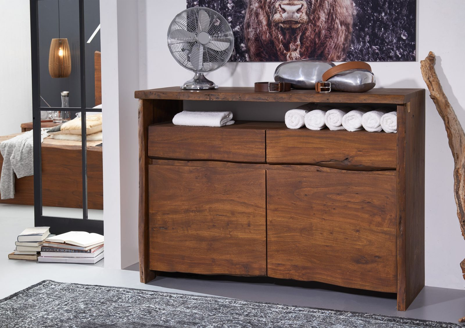 sideboard dunkelbraun fabulous sideboard dunkelbraun teakholz aus bali with sideboard. Black Bedroom Furniture Sets. Home Design Ideas