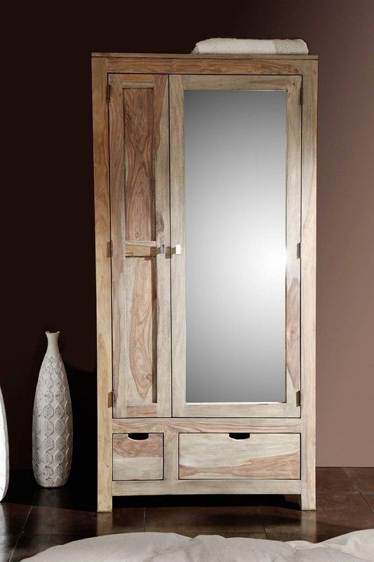 Garderobe der serie nature grey for Garderobe natur