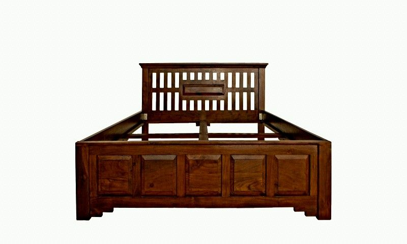 oxford bett classic 264 akazie kolonial massiv. Black Bedroom Furniture Sets. Home Design Ideas