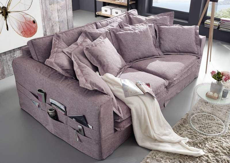 xxxl hussensofa hampton sofa bezug violettgrau big sofa. Black Bedroom Furniture Sets. Home Design Ideas
