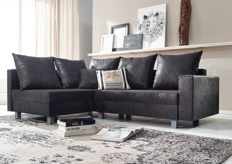 maya sofa ecksofa bezug grau vintage antik optik sv. Black Bedroom Furniture Sets. Home Design Ideas