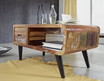 SIXTIES Couchtisch #106 Altholz lackiert