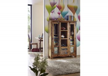 NATURE OF SPIRIT Highboard #21 Indisches Altholz