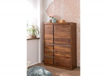 SYDNEY Highboard #102 Sheesham / Palisander Möbel