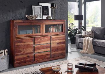 SYDNEY Highboard #103 Sheesham / Palisander Möbel