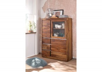 SYDNEY Highboard #125 Sheesham / Palisander Möbel