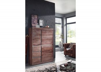SYDNEY Highboard #202 Sheesham / Palisander Möbel