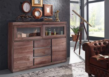 SYDNEY Highboard #203 Sheesham / Palisander Möbel