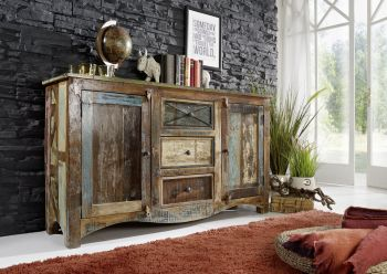 NATURE OF SPIRIT Sideboard #05 Indisches Altholz