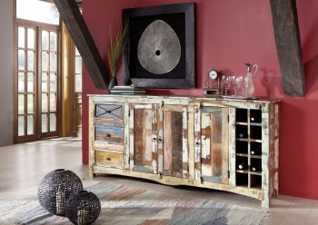 NATURE OF SPIRIT Sideboard #15 Indisches Altholz