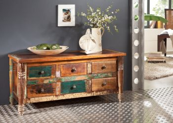 FABLE Sideboard #01 Indisches Altholz lack.
