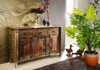 FABLE Sideboard #04 Indisches Altholz lack.