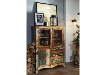 NATURE OF SPIRIT Highboard #113 Altholz