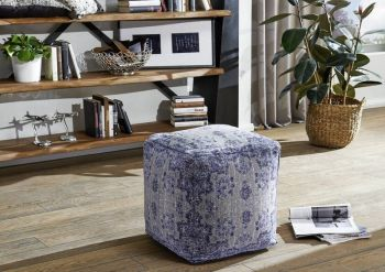 Hocker 45x45x45 blau GRANTS